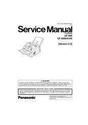 manual panasonic uf 4100