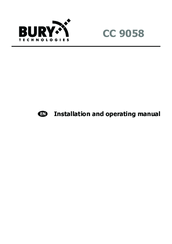 Bury Cc 9058 Installation And Operating Manual Pdf Download