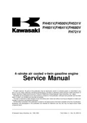 Kawasaki Fh500v Manuals Manualslib
