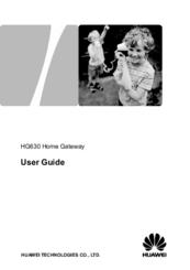 HUAWEI HG630 USER MANUAL Pdf Download
