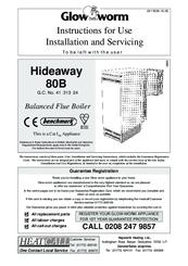 Glow-worm Hideaway 80B FF Manuals