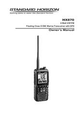 standard horizon hx870 manuals rh manualslib com