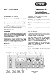 Powermax boiler instructions.