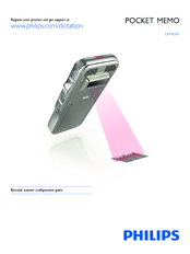 Philips Pocket Memo DPM8500 Configuration Manual