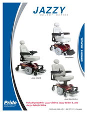 pride mobility jazzy select 6 owner s manual pdf download