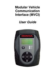 Honda Modular Vehicle Communication Interface User Manual