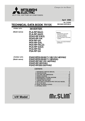 Mitsubishi Electric Mr.SLIM PLA-RP50AA Technical Data Manual