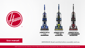 Hoover Power Path Pro Xl Manuals