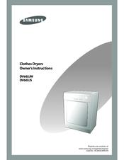samsung dv665jw manuals rh manualslib com Samsung Clothes Dryer Parts Manual Samsung Dryer Parts Manual