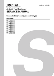 Toshiba VN-M650HE Service Manual