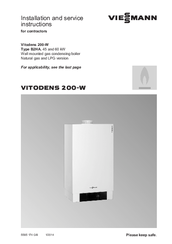 viessmann vitodens 200 w system manuals. Black Bedroom Furniture Sets. Home Design Ideas