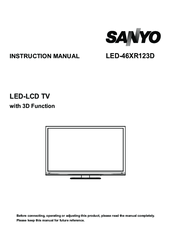 Sanyo fw40d36f led lcd tv download instruction manual pdf.