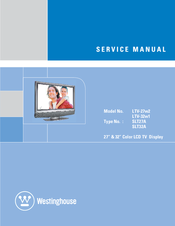 "westinghouse ltv 32w1 hd ready 32 lcd tv manuals rh manualslib com Westinghouse LED TV Costco Westinghouse 32"" TV Manual"
