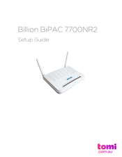 Billion BiPAC 7100SV Drivers Windows 7