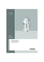 Siemens TA60100 Operating Manual