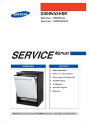SAMSUNG DW5363 SERIES SERVICE MANUAL Pdf Download