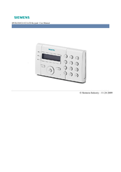 Siemens SPCK421 User Manual