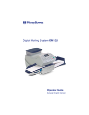 Pitney Bowes Dm125 Manuals