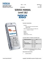 nokia e60 service manual pdf download rh manualslib com Nokia E72 Nokia Jadul
