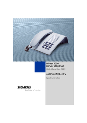 Siemens Hicom 150 E Office Operating Instructions Manual