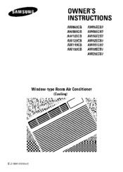 samsung air conditioner remote control instructions