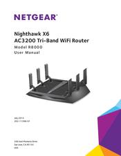 NETGEAR NIGHTHAWK X6 AC3200 USER MANUAL Pdf Download