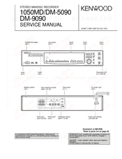 Kenwood DM-5090 Service Manual