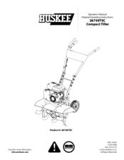 huskee 26750tsc manuals rh manualslib com huskee tiller manual huskee tiller manual 3365pstsc