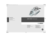 Bosch GHO 10-82 Professional Original Instructions Manual