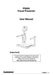 Lumens PS660 Manuals