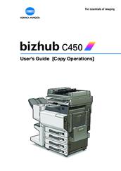 konica minolta bizhub c450 manuals rh manualslib com bizhub c450 service manual pdf konica minolta c450 user manual