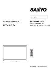 Sanyo LED-46XR10FHB Service Manual