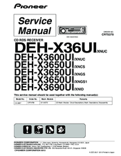 Pioneer Deh-X6700Bs Wiring Diagram from data2.manualslib.com