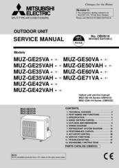 mitsubishi electric muz ge71va manuals rh manualslib com mitsubishi electric vrf service manual mitsubishi electric city multi r410a service manual