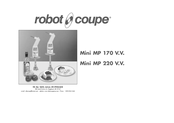 Robot Coupe Mini Mp 190 Vv Manuals