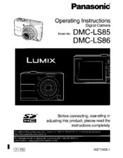 PANASONIC LUMIX DMC-LS86 DESCARGAR DRIVER