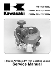 Kawasaki FX600V Manuals