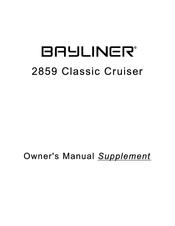 bayliner 2859 classic cruiser owner s manual supplement pdf download rh manualslib com Bayliner Ciera Express 1998 bayliner 2855 ciera owners manual