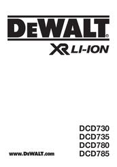 dewalt dcd780 manuals rh manualslib com dewalt dw745 owners manual dewalt dws780 owners manual