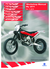 Husqvarna TE511 Manuals