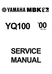 manuals and user guides for yamaha mbk yq100  we have 1 yamaha mbk yq100  manual available for free pdf download: service manual