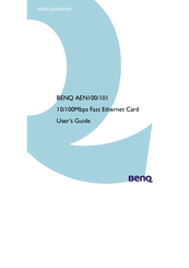 BENQ AEN100-101 DRIVER UPDATE