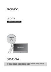 Sony Bravia KDL-32W650A Operating Instructions Manual