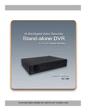 Digiguard H 264 Digital video recorder -4/8/16 channel