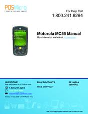 motorola mc55 enterprise digital assistant manuals rh manualslib com motorola mc55 manuel motorola mc55 notice d'utilisation