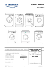 electrolux washing machine manuals rh manualslib com zanussi electrolux washing machine user manual electrolux washing machine guide