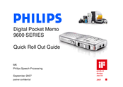 Philips 9600 SERIES Quick Start Manual