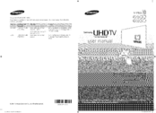 Samsung UN40HU6900 User Manual