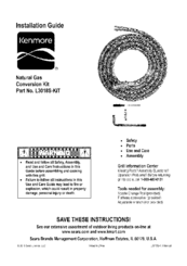 Kenmore L30118S-KIT Installation Manual