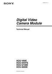Sony XCG-V60E Technical Manual